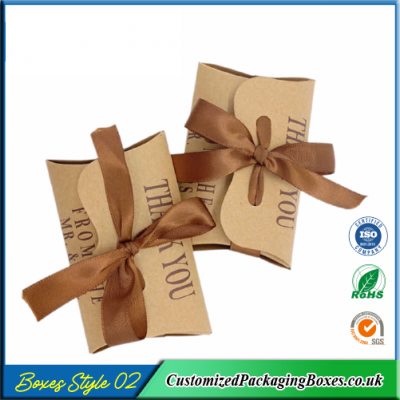 100 Small Gift Pouch Pillow Box