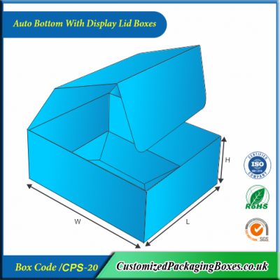 Auto Bottom Boxes with Display Lid 2