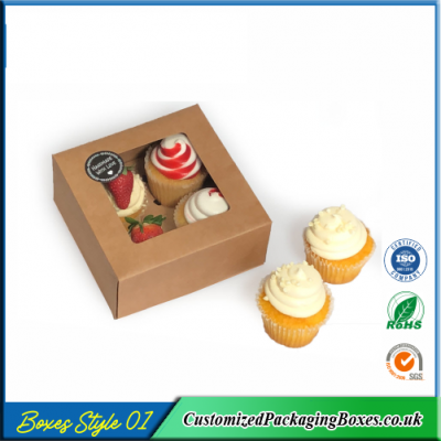 Box For 4 cupcakes 1