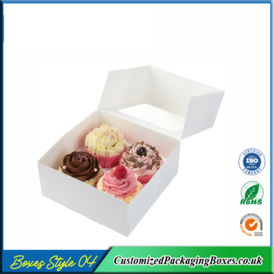 Box For 4 cupcakes 4