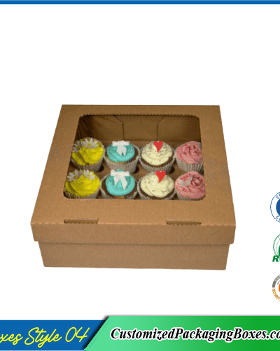 Box for 12 cupcakes 1
