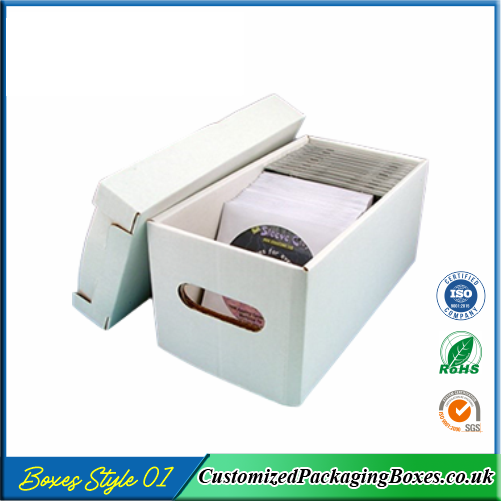 CD Storage Packaging Boxes
