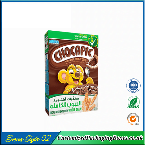 Chocolate Cereal Boxes 2