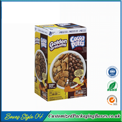 Chocolate Cereal Boxes 4