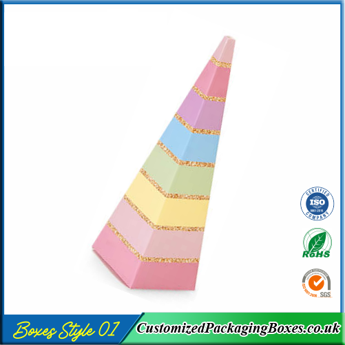 Cone-shaped Party Boxes