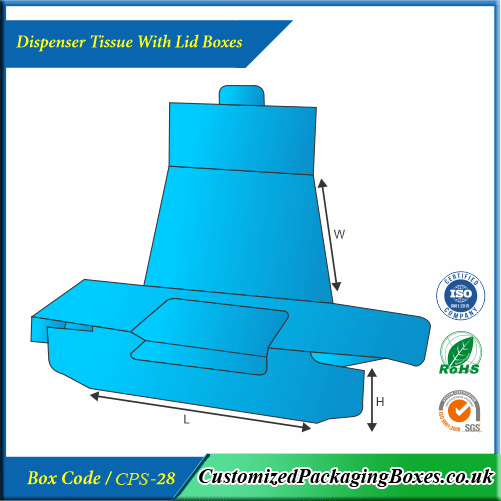 Dispenser Tissue With Lid Boxes 2