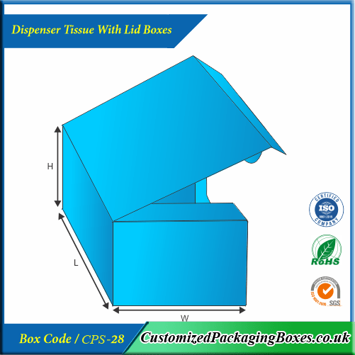 Dispenser Tissue With Lid Boxes 3