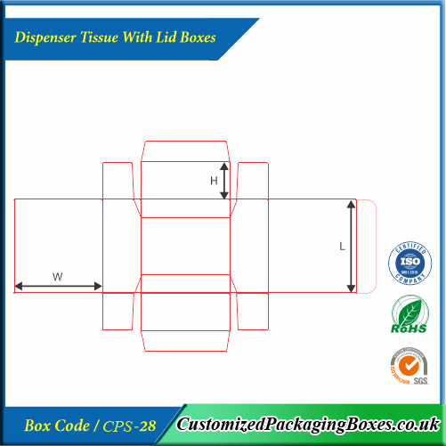 Dispenser Tissue With Lid Boxes 4