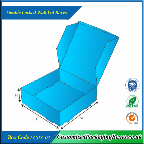 Double Locked Wall Lid Boxes 2