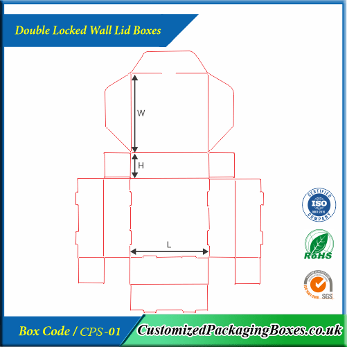 Double Locked Wall Lid Boxes 4