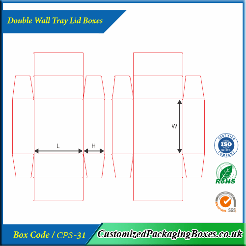 Double Wall Tray Lid Boxes 4