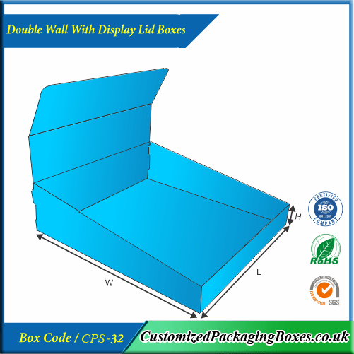 Double Wall With Display Lid Boxes 2